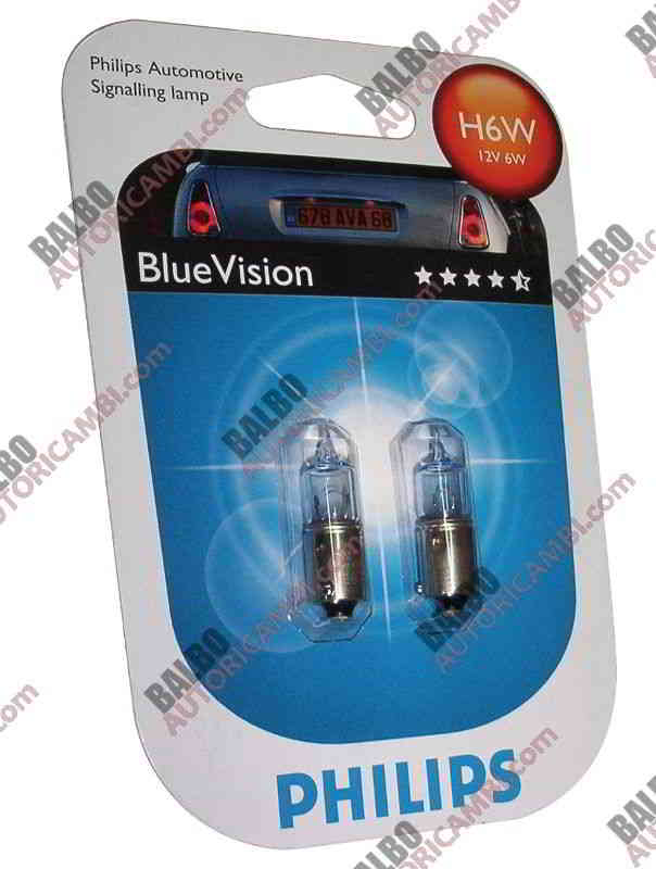 Coppia H6W Blue Vision Philips